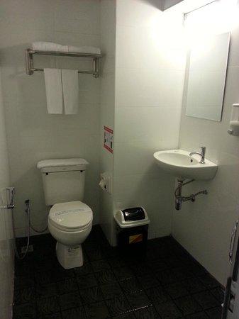 Clover City Center: ...a wet room