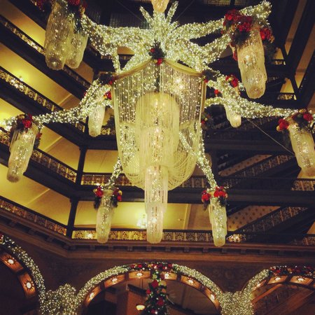 The Brown Palace Hotel and Spa, Autograph Collection: Traditional holiday decor, perfection!