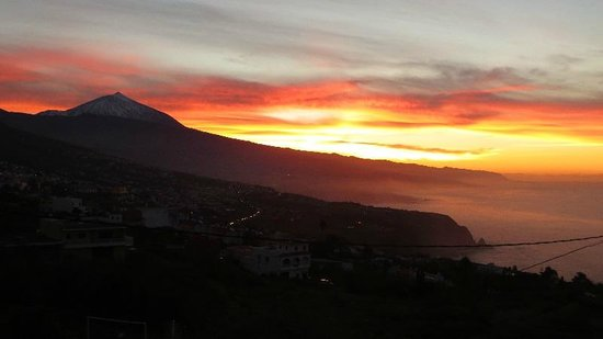 LB Tenerife: Atardecer - Valle de La Orotava - La Bola Tenerife