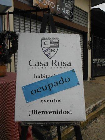 Casa Rosa : Publicidad