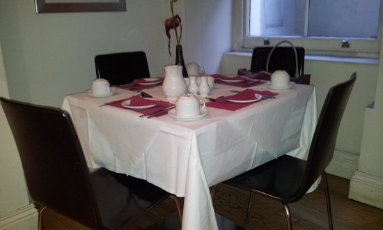 Cavendish Hotel- Bloomsbury: breakfast