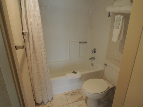 Embassy Suites by Hilton Lompoc Central Coast: Shower/toilet