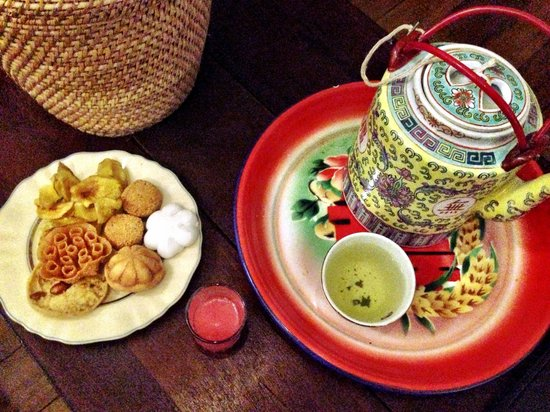 Muntri Mews: Welcome goodies