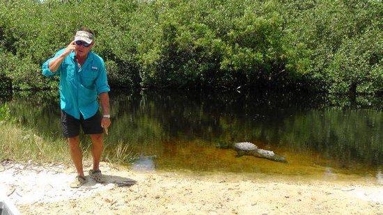 Everglades City Boardwalk & Airboat Tours: Capt Jonny (mit seinem Einverständnis)