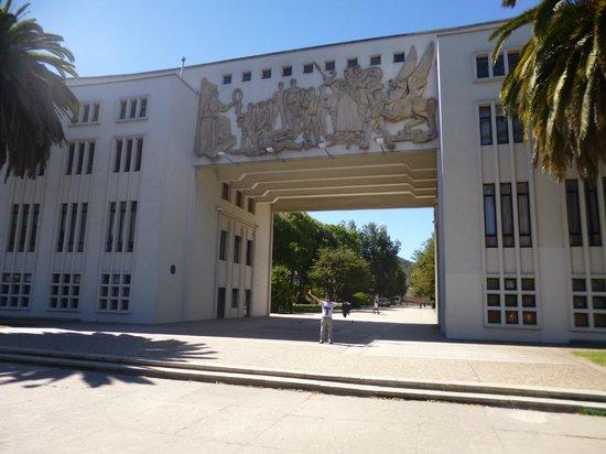 Universidad de Concepcion: frontis