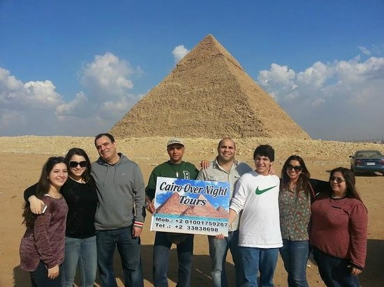 Cairo-Overnight Tours: Lovely group from Canada