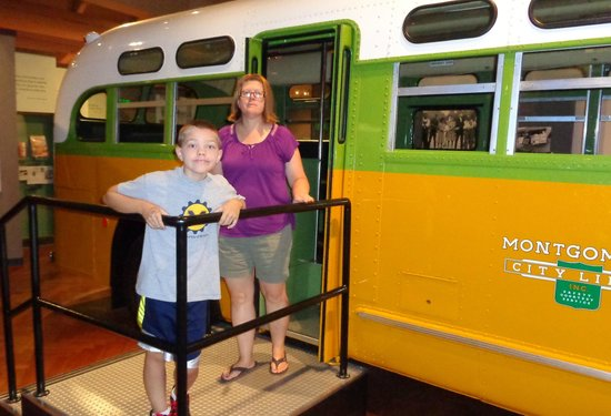 """The Henry Ford: The bus that Rosa Parks sat on and said """"NO!"""""""