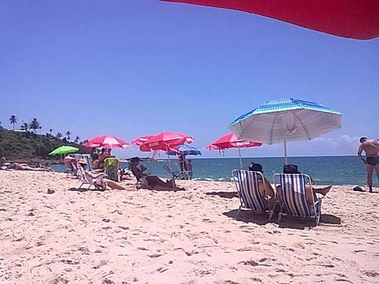 Buracao Beach : Praia tranquila!