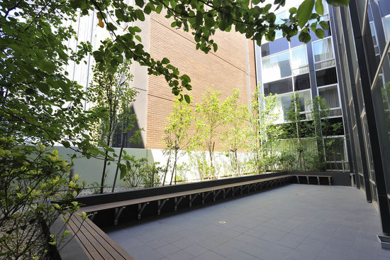 Mercure Melbourne Therry Street: Courtyard located on Level 9