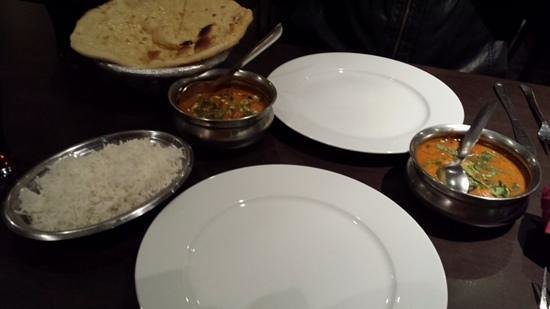 Main course picture of ganesha authentic indian cuisine for Authentic indian cuisine