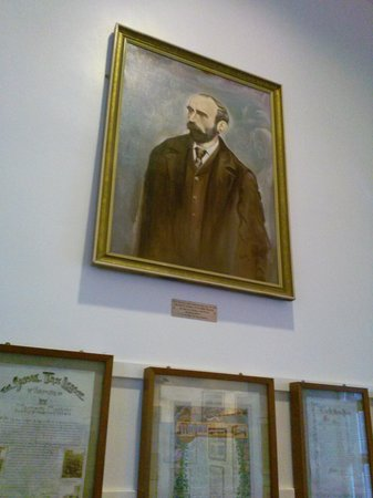 Foxford, Ireland: painting of Michael Davitt