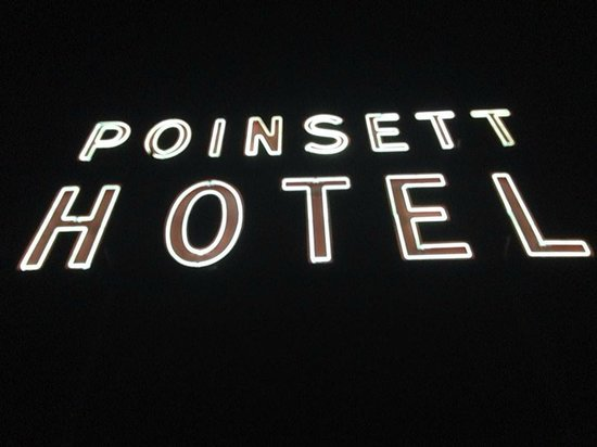The Westin Poinsett, Greenville : Antique Hotel Sign