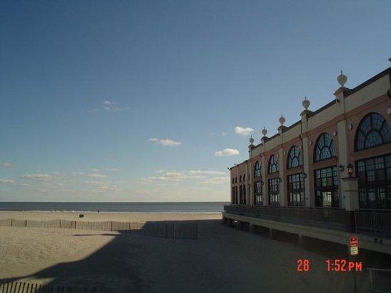 Ocean City Boardwalk: View of Ocean from BoardWalk