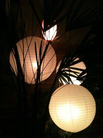 Tomyam SouthEast Asia: detalhe da decoração