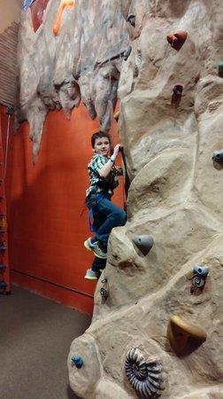 Metropolis Resort: Rock Climbing in Action City at Metropolis City