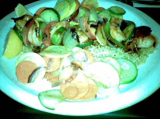 Scotty's Bar & Grill: Teriyaki shrimp kabob