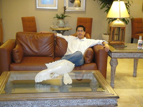Homewood Suites Miami-Airport / Blue Lagoon: En el Lobby
