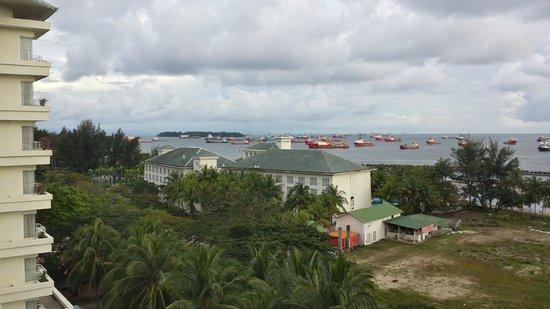 Dorsett Grand Labuan: View over the Port
