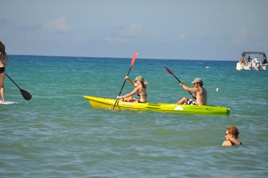 Anaehoomalu: Kayakers Out On A-Bay