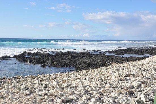 Anaehoomalu: Walking North From A-Bay Beach