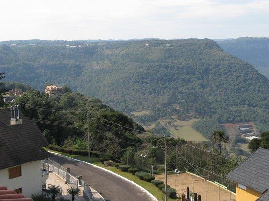 """Hotel Laghetto Toscana: Vista do quarto """"dos fundos"""" para o Vale."""