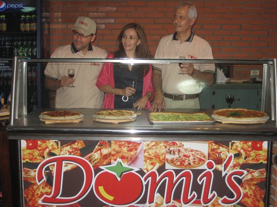 Domis Pizza : The owners