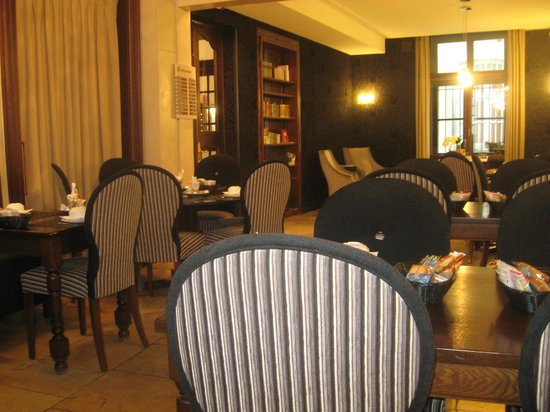 Hôtel de Guise : breakfast area