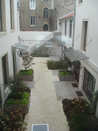 Hôtel de Guise : courtyard