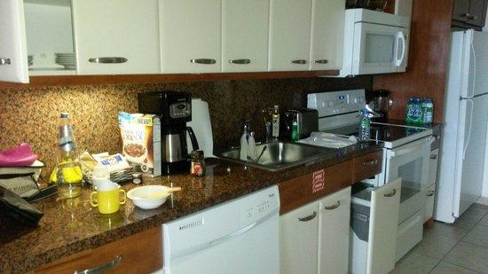 Flamingo Beach Resort: Cucina