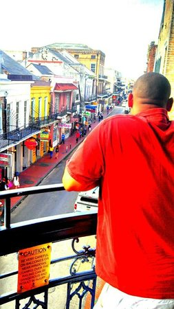Royal Sonesta New Orleans : balcony view