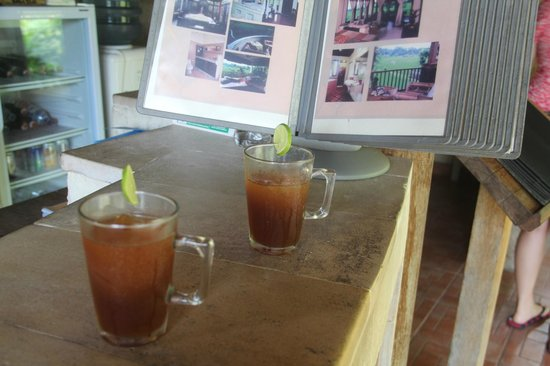 Tegal Sari: Our welcome drink prior our arrival
