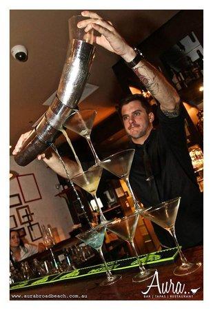 Aura Broadbeach: Cocktail Connoisseur