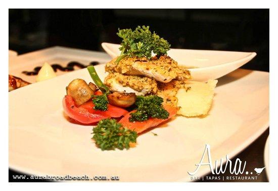 Aura Broadbeach: Mouthwatering Meals