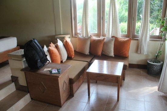 Tegal Sari: My room sofa