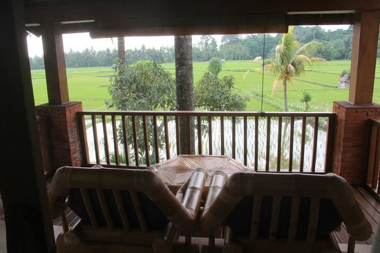 Tegal Sari: Our room balcony