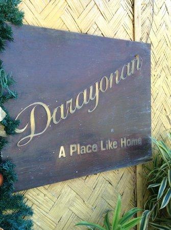 Darayonan Lodge : Lodge name