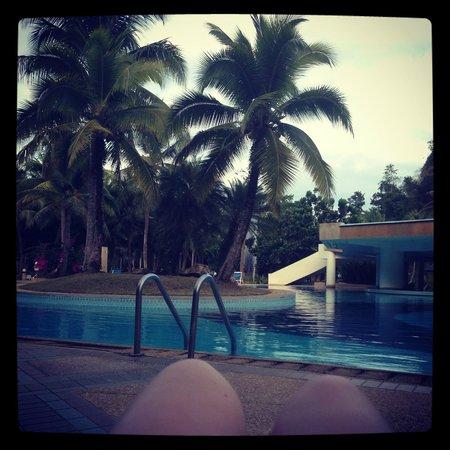 Maritime Park & Spa Resort: Бассейн. СОгласно расписанию - работает до 9. На практике - работает пока вы плаваете.Хоть до 2.