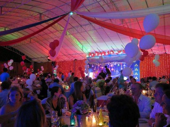 Anantara Bophut Koh Samui Resort : New Years Dinner