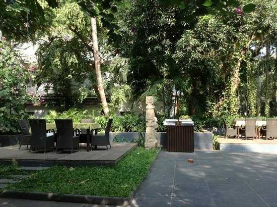 The Raintree: the open air courtyard