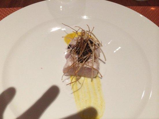 Tanusas Retreat & Spa: Entrada cena.. Cada día o cada noche nuevas experiencias y deleite culinario!