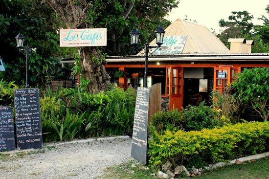 Le Cafe Fiji: Le Cafe, Korotogo