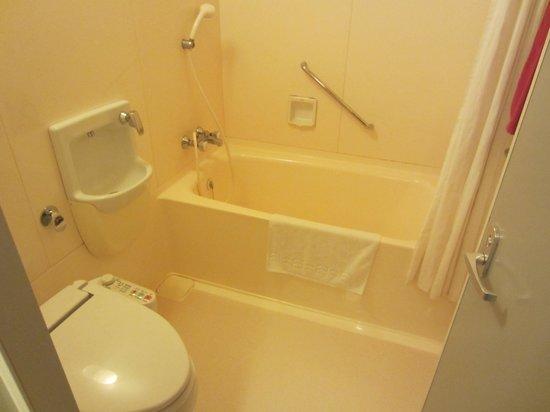 Kitahiroshima Classe Hotel: Bathroom
