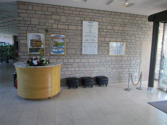 Kitahiroshima Classe Hotel: Hotel lobby area