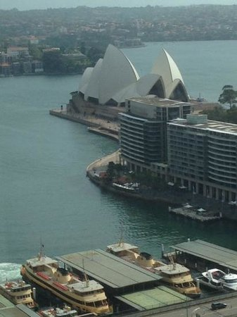 Sydney Harbour Marriott Hotel at Circular Quay: view from my room