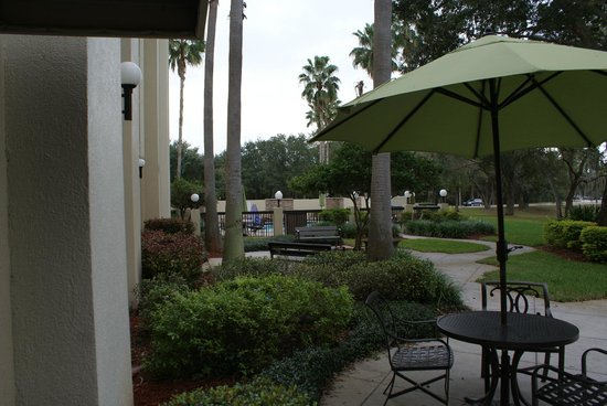 Holiday Inn Express Tampa-Brandon: Pool area