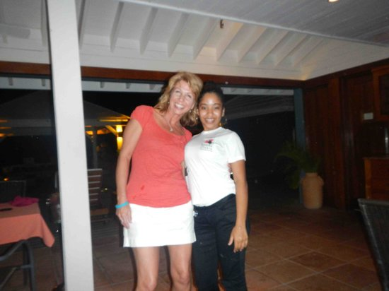 Barefoot Cay Resort: My beautiful wife cindy with Julie