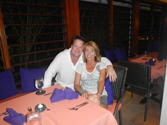 Barefoot Cay: My beautiful wife Cindy and I