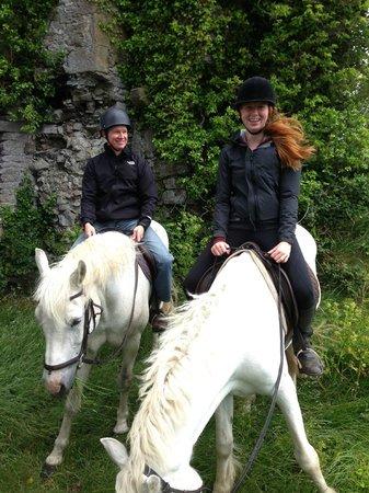 Clarina Equestrian Centre: At the Castle
