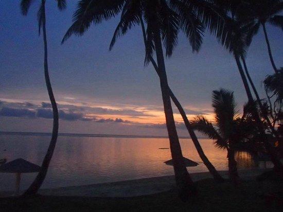 The Warwick Fiji : Beautiful  Warwick sunset