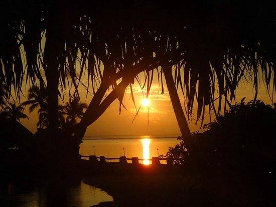 The Warwick Fiji: Beautiful Warwick sunset